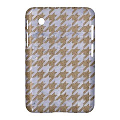 Houndstooth1 White Marble & Sand Samsung Galaxy Tab 2 (7 ) P3100 Hardshell Case  by trendistuff