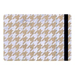 Houndstooth1 White Marble & Sand Apple Ipad Pro 10 5   Flip Case by trendistuff