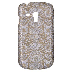 Damask2 White Marble & Sand Galaxy S3 Mini by trendistuff