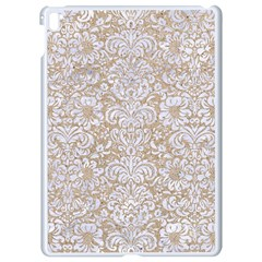 Damask2 White Marble & Sand Apple Ipad Pro 9 7   White Seamless Case by trendistuff