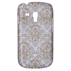 Damask1 White Marble & Sand (r) Galaxy S3 Mini by trendistuff