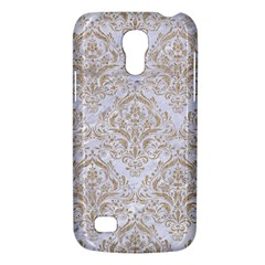 Damask1 White Marble & Sand (r) Galaxy S4 Mini by trendistuff