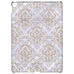 Damask1 White Marble & Sand (r) Apple Ipad Pro 12 9   Hardshell Case by trendistuff