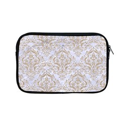 Damask1 White Marble & Sand (r) Apple Macbook Pro 13  Zipper Case
