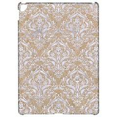 Damask1 White Marble & Sand Apple Ipad Pro 12 9   Hardshell Case by trendistuff
