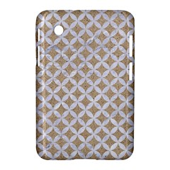 Circles3 White Marble & Sand Samsung Galaxy Tab 2 (7 ) P3100 Hardshell Case  by trendistuff