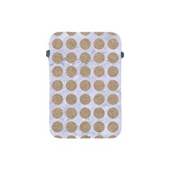 Circles1 White Marble & Sand (r) Apple Ipad Mini Protective Soft Cases by trendistuff