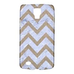 Chevron9 White Marble & Sand (r) Galaxy S4 Active by trendistuff