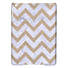 Chevron9 White Marble & Sand (r) Ipad Air Hardshell Cases by trendistuff
