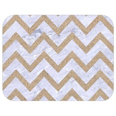 Chevron9 White Marble & Sand (r) Full Print Lunch Bag