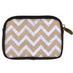 CHEVRON9 WHITE MARBLE & SAND Digital Camera Cases Back