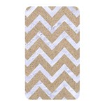 CHEVRON9 WHITE MARBLE & SAND Memory Card Reader Front