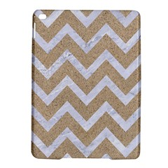 Chevron9 White Marble & Sand Ipad Air 2 Hardshell Cases by trendistuff