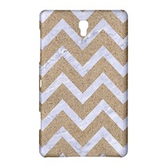 Chevron9 White Marble & Sand Samsung Galaxy Tab S (8 4 ) Hardshell Case