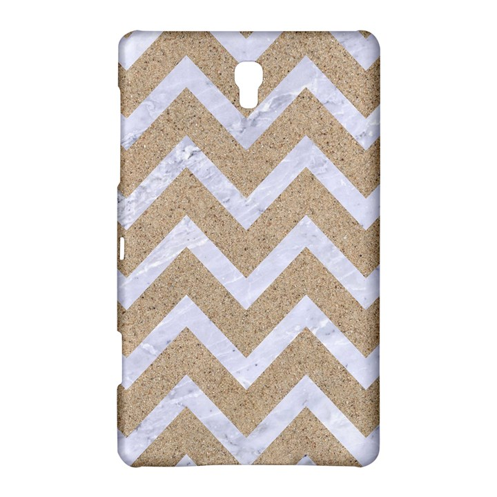 CHEVRON9 WHITE MARBLE & SAND Samsung Galaxy Tab S (8.4 ) Hardshell Case