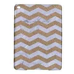 Chevron3 White Marble & Sand Ipad Air 2 Hardshell Cases by trendistuff