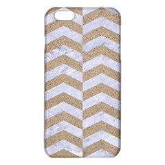 Chevron2 White Marble & Sand Iphone 6 Plus/6s Plus Tpu Case by trendistuff