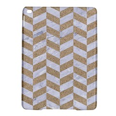 Chevron1 White Marble & Sand Ipad Air 2 Hardshell Cases