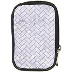 BRICK2 WHITE MARBLE & SAND (R) Compact Camera Cases Front