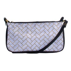 BRICK2 WHITE MARBLE & SAND (R) Shoulder Clutch Bags