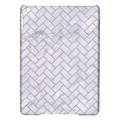 Brick2 White Marble & Sand (r) Ipad Air Hardshell Cases by trendistuff