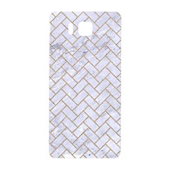 BRICK2 WHITE MARBLE & SAND (R) Samsung Galaxy Alpha Hardshell Back Case