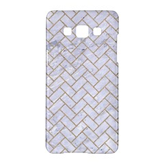 BRICK2 WHITE MARBLE & SAND (R) Samsung Galaxy A5 Hardshell Case
