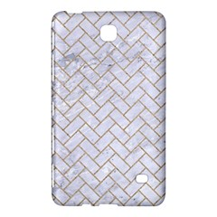 BRICK2 WHITE MARBLE & SAND (R) Samsung Galaxy Tab 4 (8 ) Hardshell Case