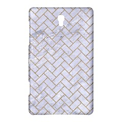 BRICK2 WHITE MARBLE & SAND (R) Samsung Galaxy Tab S (8.4 ) Hardshell Case