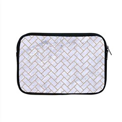 Brick2 White Marble & Sand (r) Apple Macbook Pro 15  Zipper Case by trendistuff