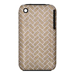 Brick2 White Marble & Sand Iphone 3s/3gs by trendistuff