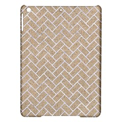 Brick2 White Marble & Sand Ipad Air Hardshell Cases by trendistuff
