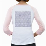 BRICK1 WHITE MARBLE & SAND (R) Girly Raglans Back