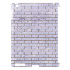 Brick1 White Marble & Sand (r) Apple Ipad 3/4 Hardshell Case (compatible With Smart Cover) by trendistuff