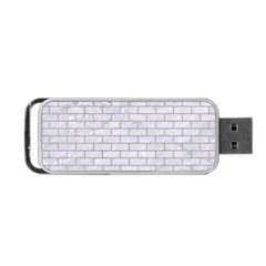 Brick1 White Marble & Sand (r) Portable Usb Flash (two Sides) by trendistuff