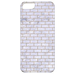 Brick1 White Marble & Sand (r) Apple Iphone 5 Classic Hardshell Case by trendistuff