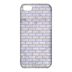 Brick1 White Marble & Sand (r) Apple Iphone 5c Hardshell Case by trendistuff