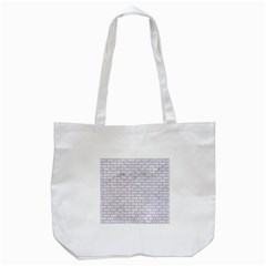 Brick1 White Marble & Sand (r) Tote Bag (white) by trendistuff