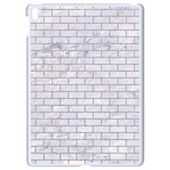 Brick1 White Marble & Sand (r) Apple Ipad Pro 9 7   White Seamless Case by trendistuff