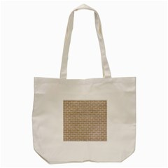 Brick1 White Marble & Sand Tote Bag (cream) by trendistuff