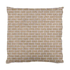 Brick1 White Marble & Sand Standard Cushion Case (one Side) by trendistuff