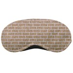 BRICK1 WHITE MARBLE & SAND Sleeping Masks Front