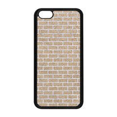 Brick1 White Marble & Sand Apple Iphone 5c Seamless Case (black) by trendistuff