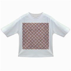 WOVEN2 WHITE MARBLE & RUSTED METAL (R) Infant/Toddler T-Shirts