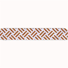 WOVEN2 WHITE MARBLE & RUSTED METAL (R) Small Bar Mats