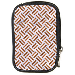 WOVEN2 WHITE MARBLE & RUSTED METAL (R) Compact Camera Cases