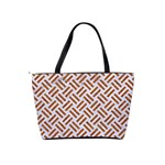 WOVEN2 WHITE MARBLE & RUSTED METAL (R) Shoulder Handbags Back
