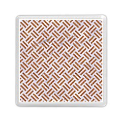 WOVEN2 WHITE MARBLE & RUSTED METAL (R) Memory Card Reader (Square)