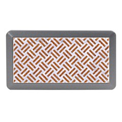 WOVEN2 WHITE MARBLE & RUSTED METAL (R) Memory Card Reader (Mini)