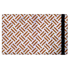 WOVEN2 WHITE MARBLE & RUSTED METAL (R) Apple iPad 2 Flip Case